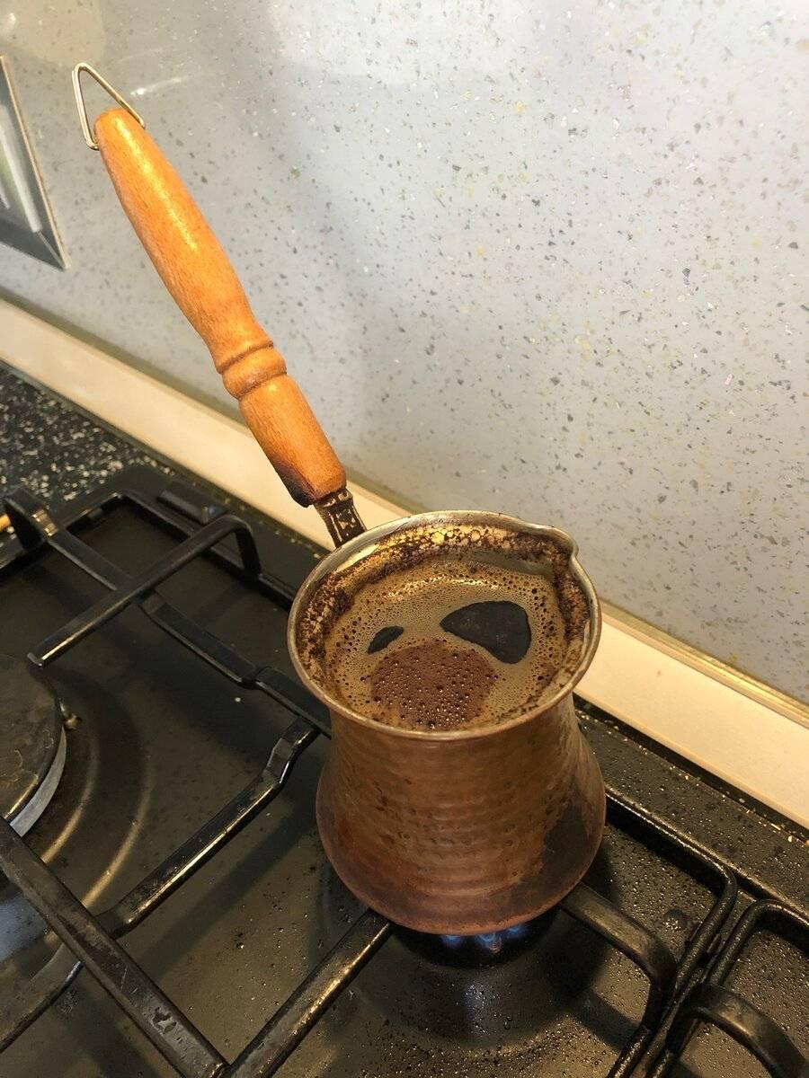 Как правильно варить кофе в турке на электрической плите