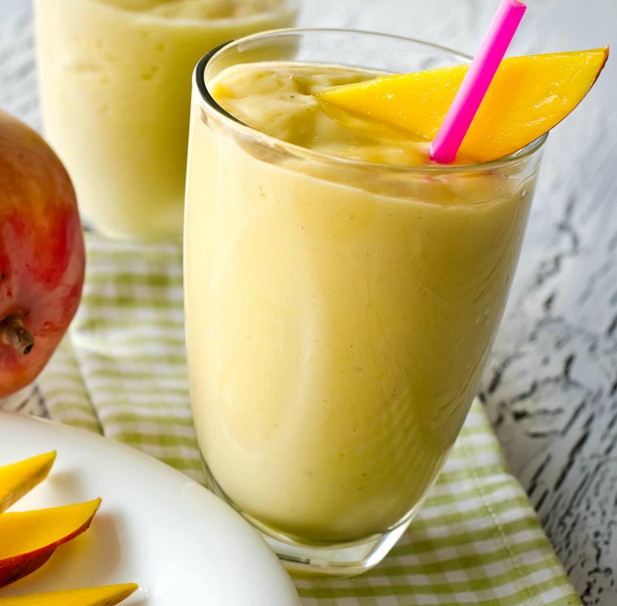 Смузи из банана и апельсина: рецепт приготовления с фото