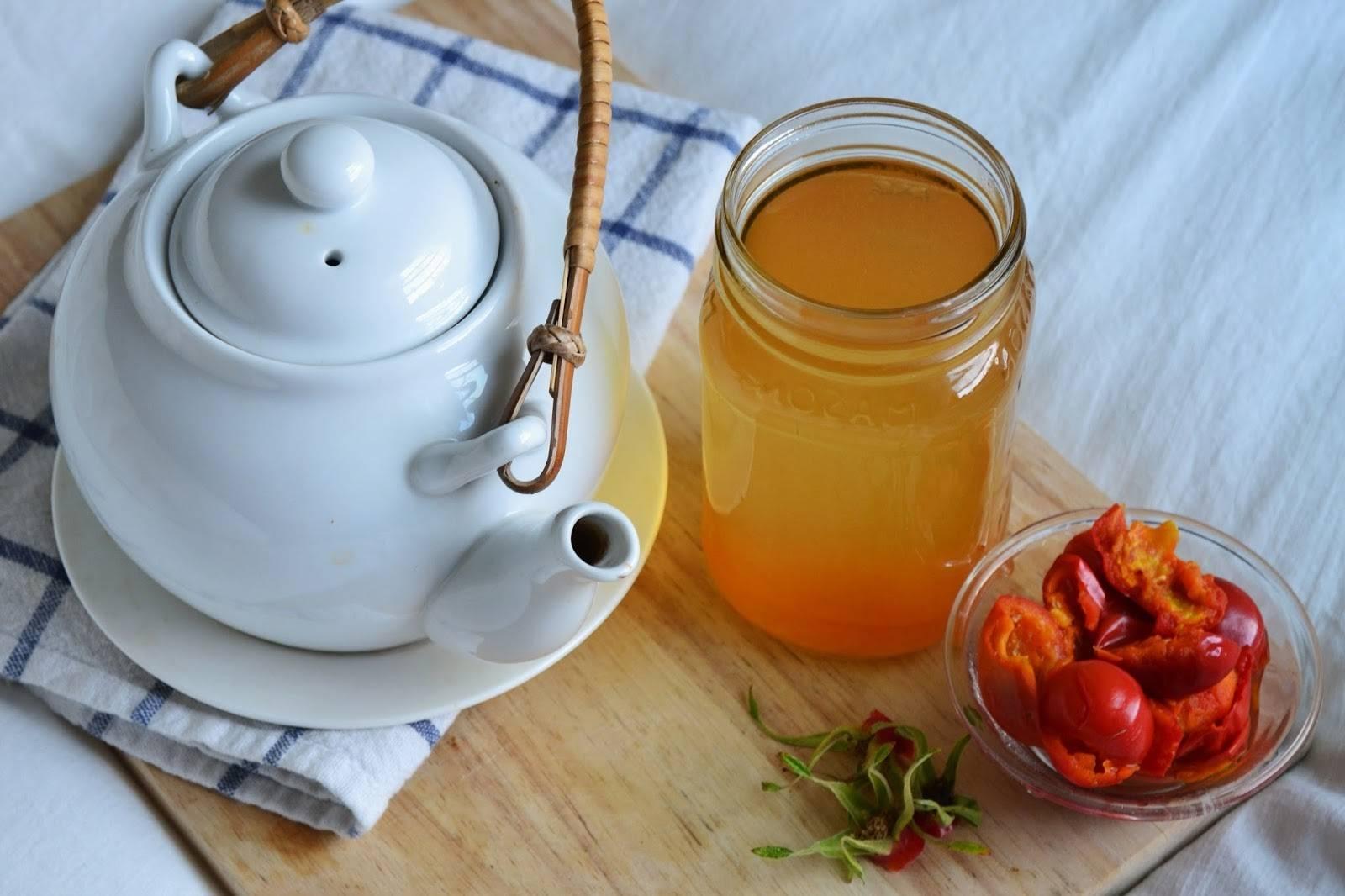 Как сделать чай из шиповника в домашних условиях простой рецепт
