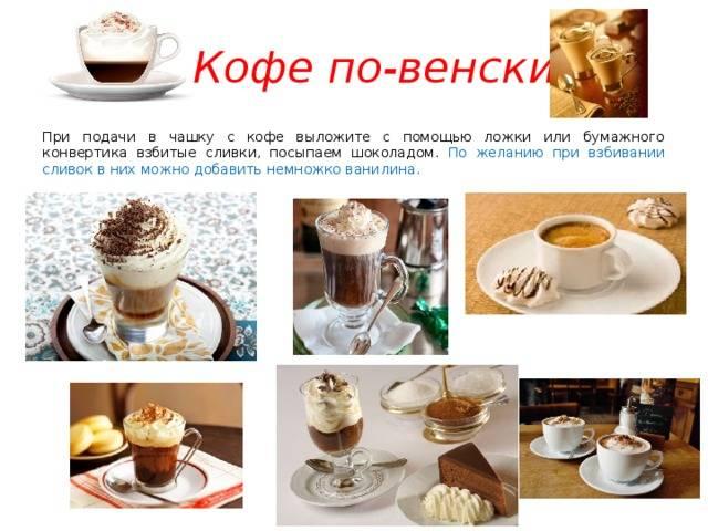 Кофе по-венски рецепт приготовления
