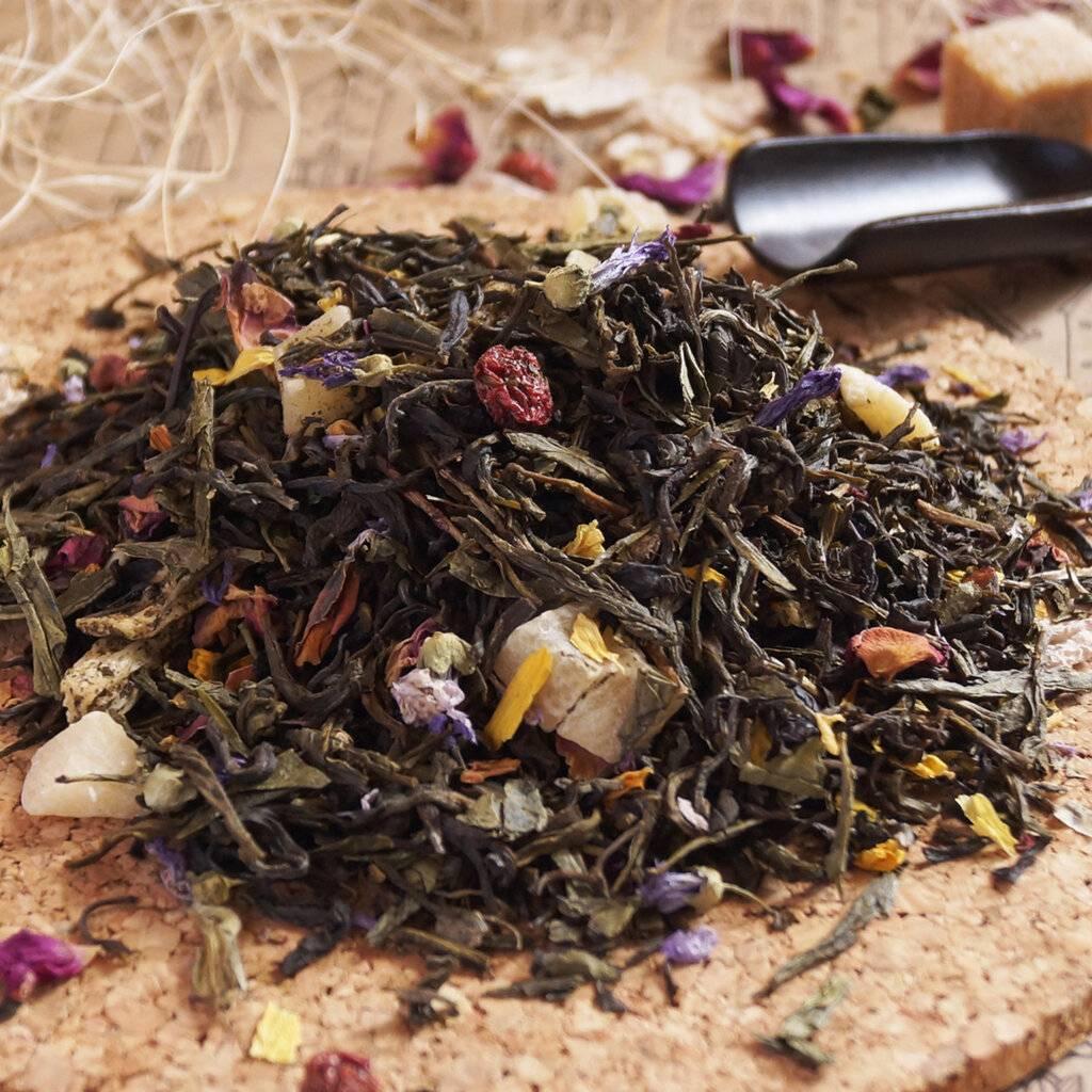 Ароматизированный чай и стоит ли его пить? - чайгик