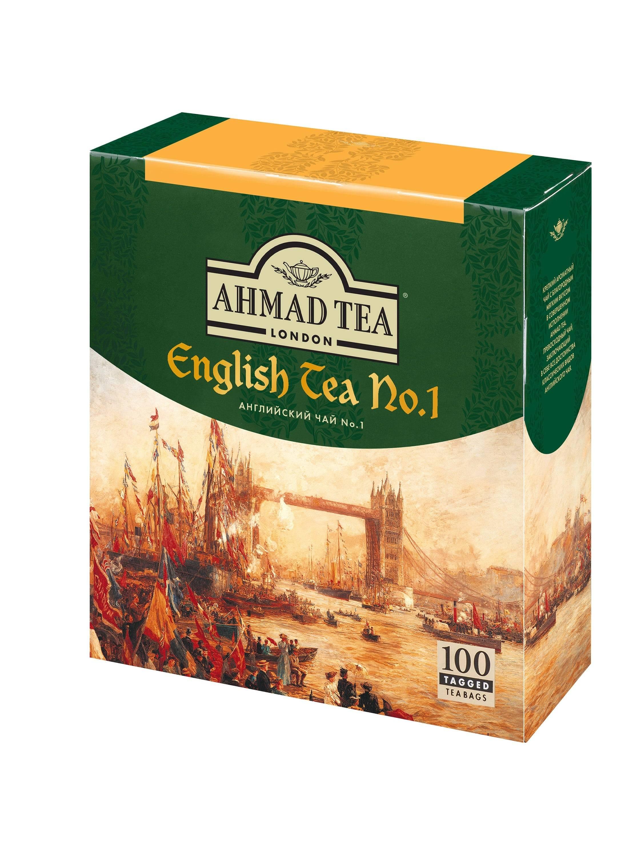 Обзор чайного ассортимента компании «ахмад чай»