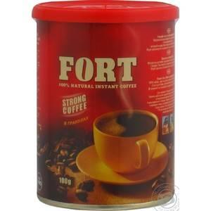 Кофе молотый fort