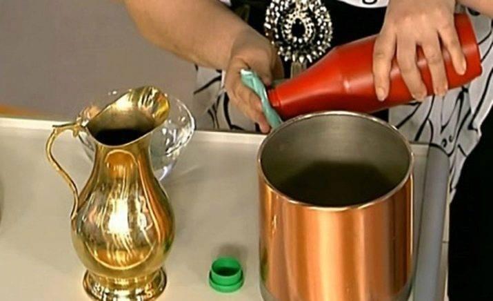 Очистить медь от окиси в домашних условиях: как, чем?