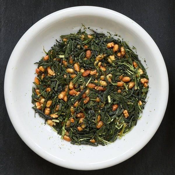 Рисовый чай генмайча (гэммайтя)