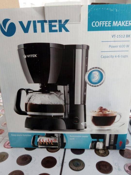 Как пользоваться кофеваркой vitek