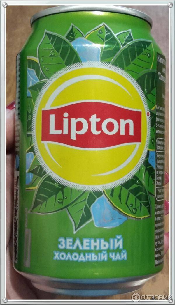 Холодный чай липтон в бутылке: состав, ассортимент (зеленый, черный, фруктовый)