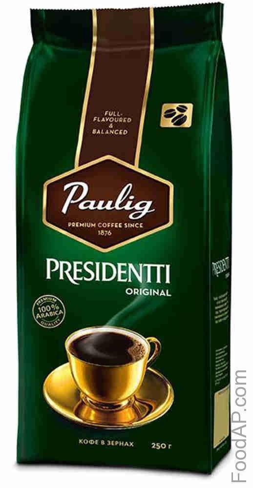 Молотый кофе паулиг президент: отзывы, цены