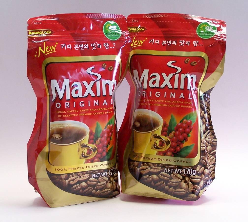 Кофе максим (maxim): описание, история и виды марки