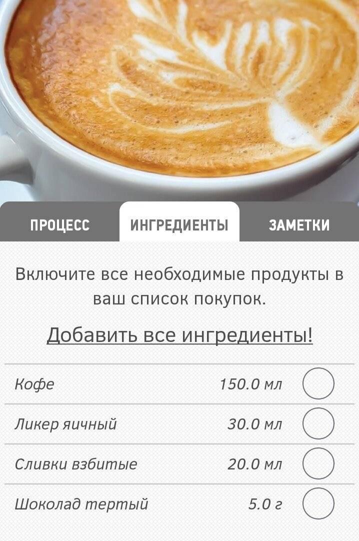 Раф-кофе - что это такое, рецепт, как приготовить, калорийность, состав