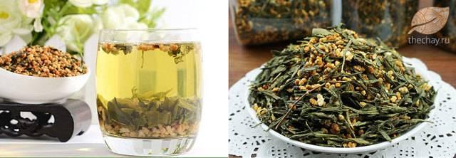 Японский рисовый чай генмайча (гэммайтя) и его свойства