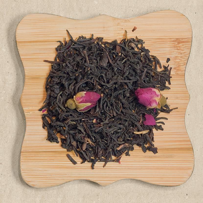 Мэй гуй хун ча (красный чай с розой) - teaterra | teaterra