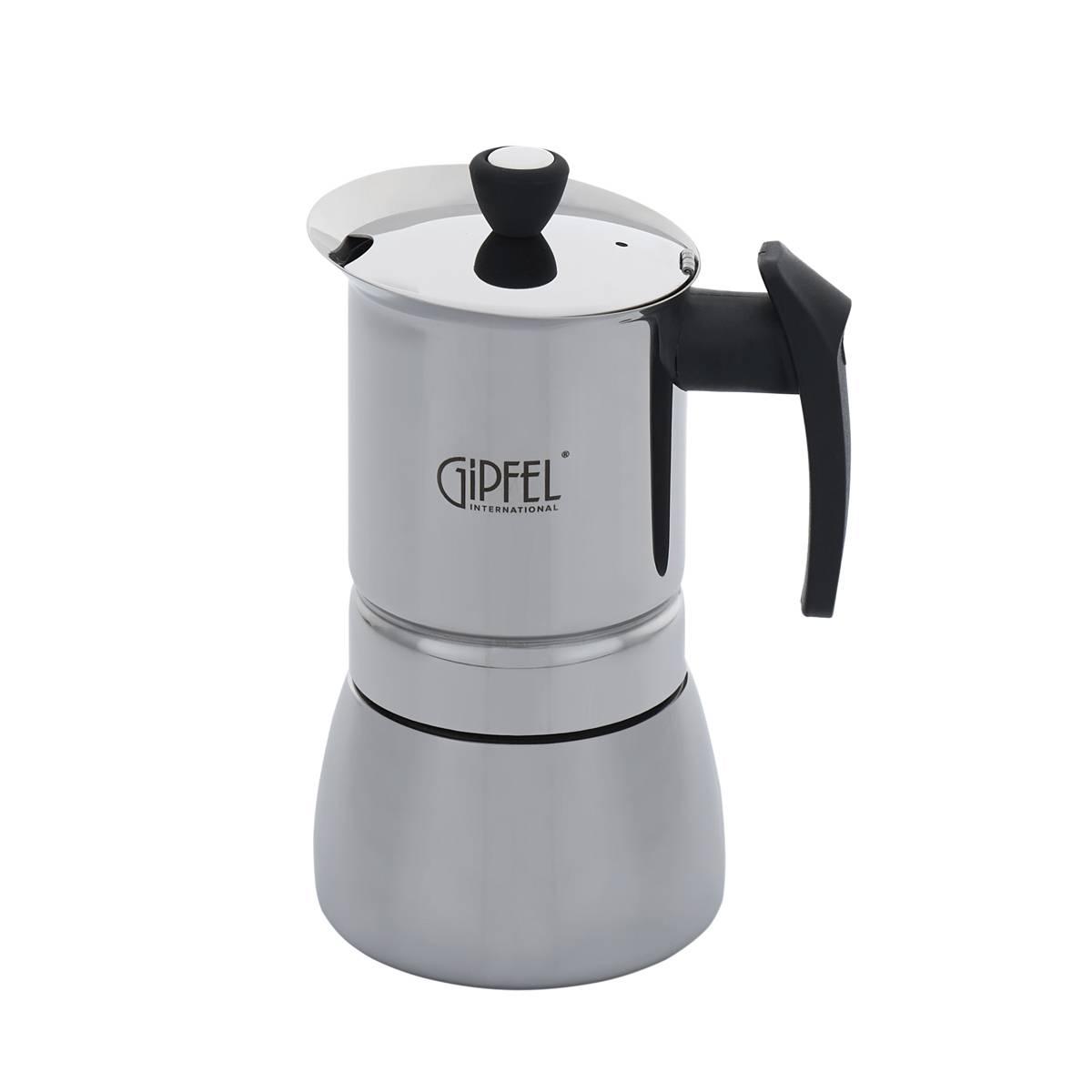 Гейзерная кофеварка гипфел: обзор кофеварки gipfel