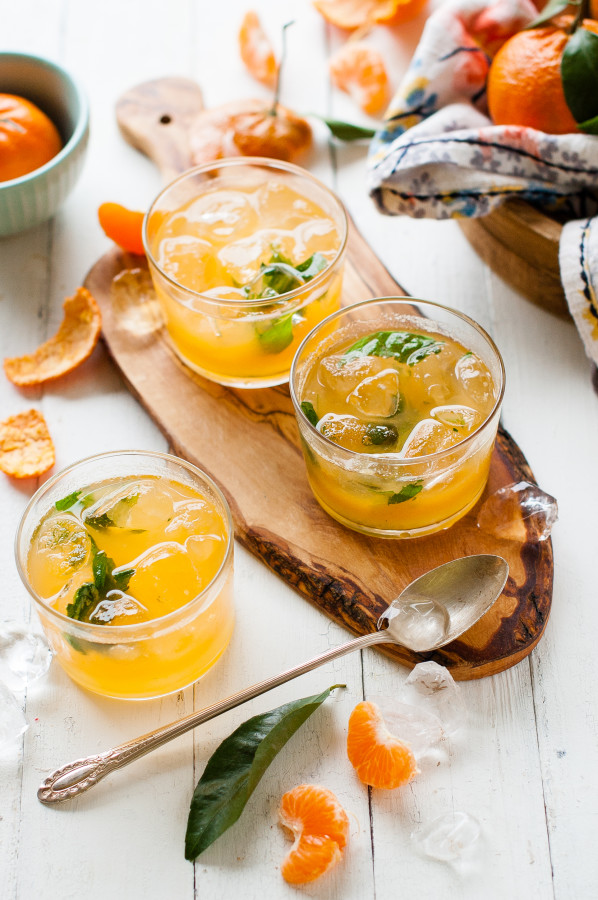 Чай с апельсином и имбирем: с корицей, лимоном, медом