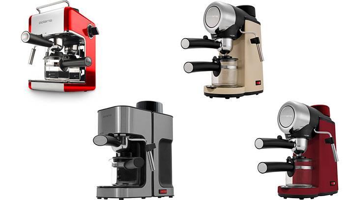 Пример мимикрии: бойлерная беспомповая рожковая кофеварка polaris pcm 4002a. обзор от эксперта