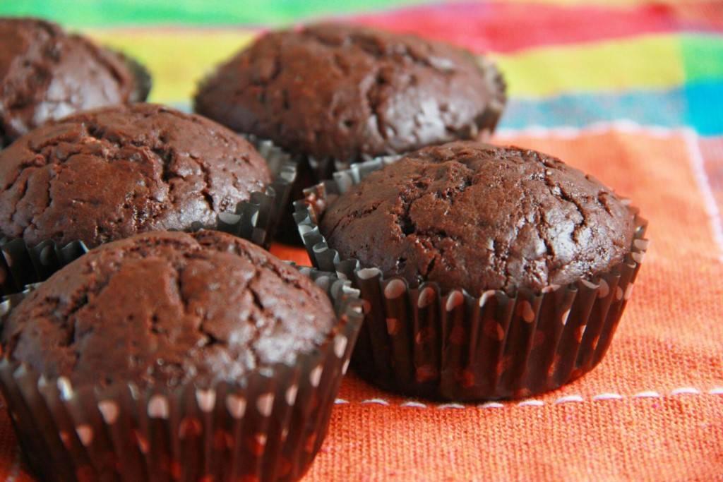 Маффины с кусочками шоколада: рецепты