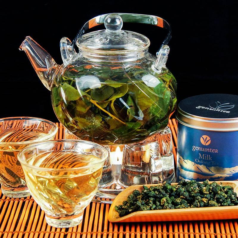 Чай молочный улун польза и вред, как заваривать и пить, калорийность