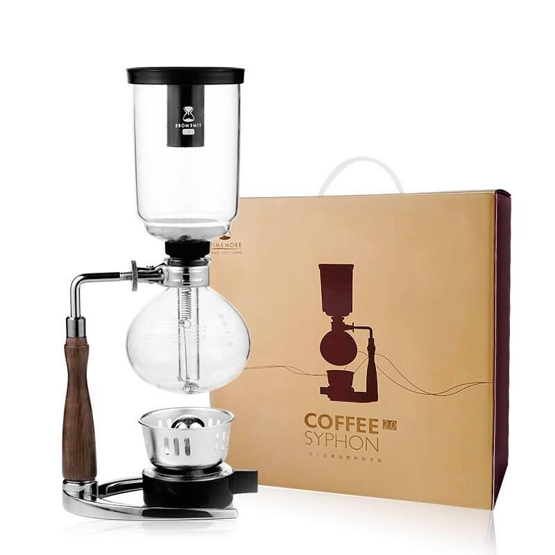 Сифон/габет для кофе «серебро» (на 6 чашек по 50 мл)