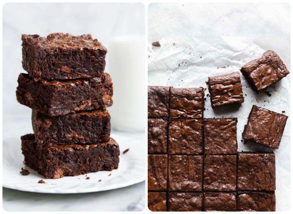 Торт брауни шоколадный с какао
