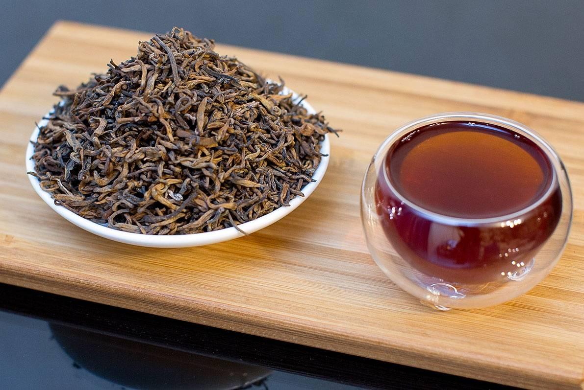 Чай китайский гун тин пуэр. гун тин — шу пуэр из провинции юньнань
