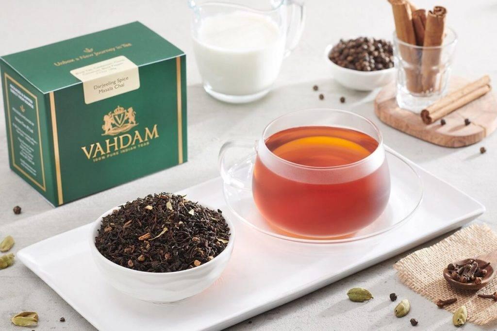 Напиток со специями — чай масала