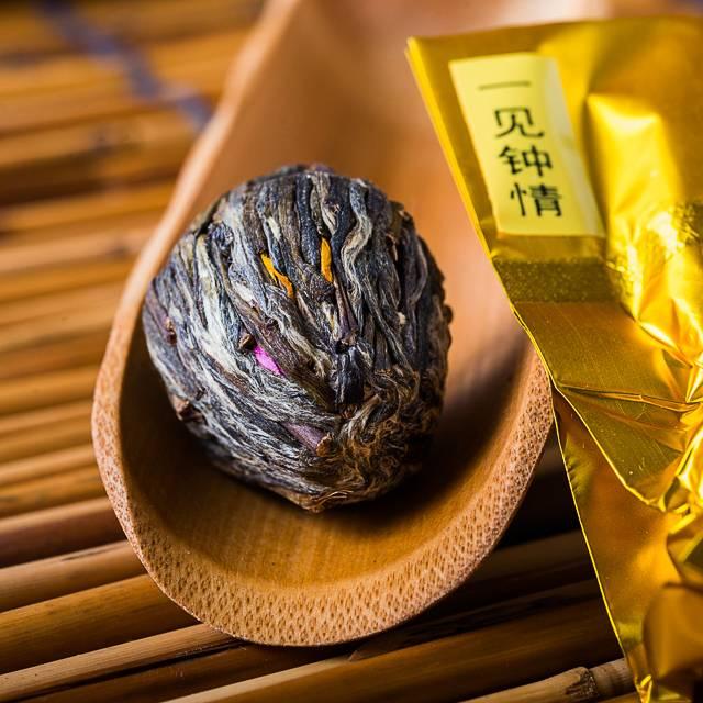 Связанный чай - чай который распускается как цветок