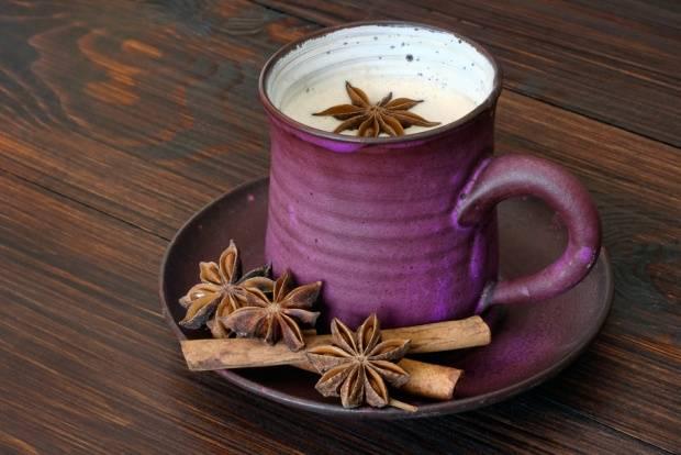 Пряный чай латте рецепт