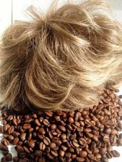Маска для волос с кофе с окрашивающим эффектом