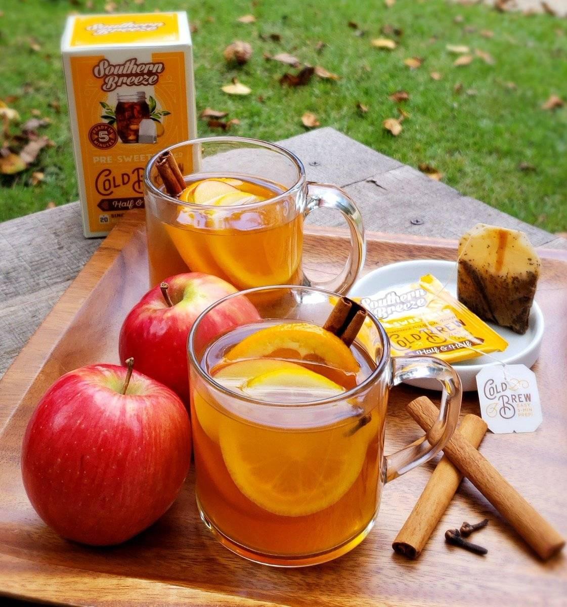 Полезные свойства и приготовление яблочного чая из яблок