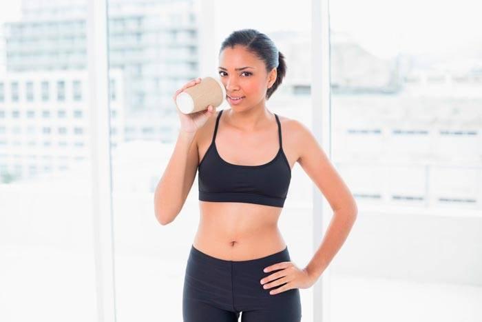Можно ли пить кофе перед тренировкой в тренажёрном зале