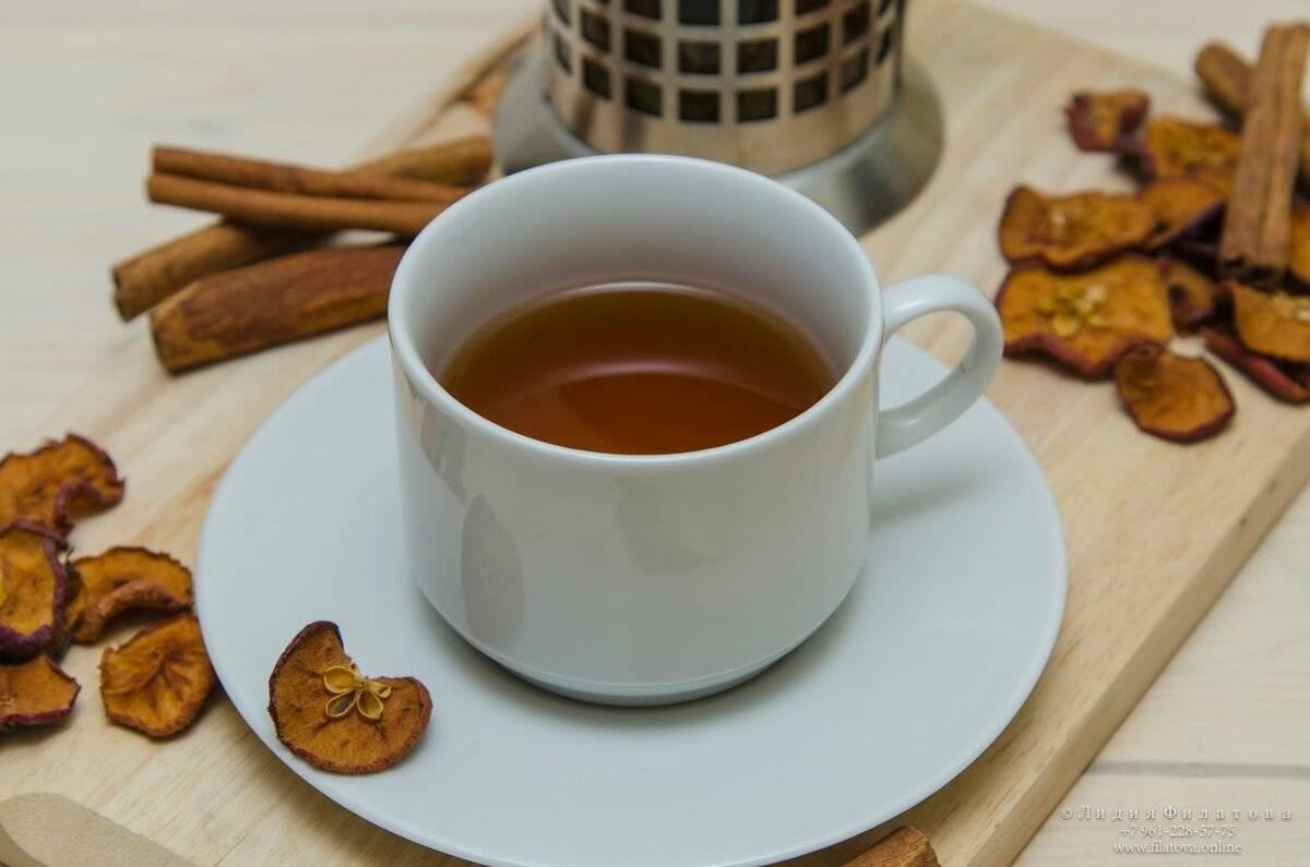 Яблочный чай польза и рецепты приготовления