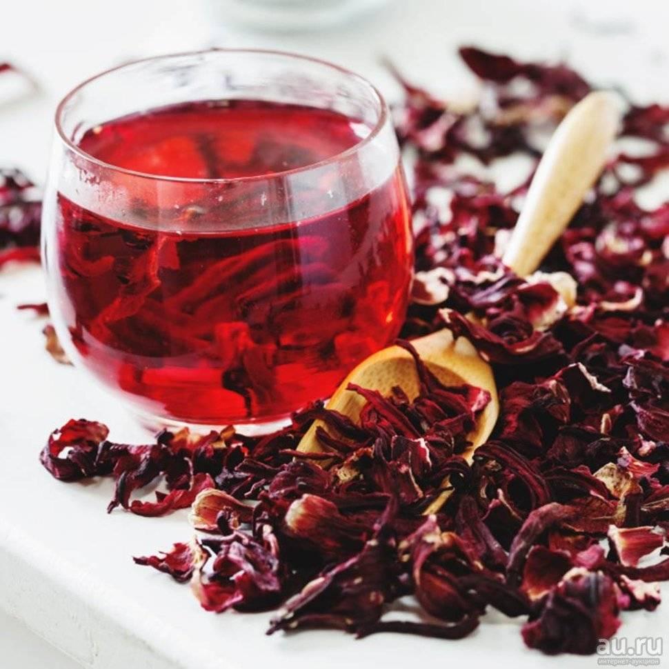 Полезные свойства чая гибискус