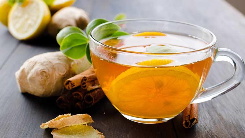 Чай с имбирем, польза и вред