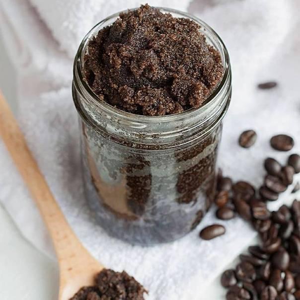 Домашний кофейный скраб - как приготовить, где купить