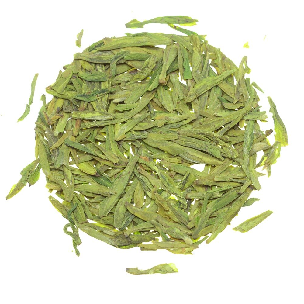 Зеленый чай лунцзин или лун цзин (龙井 - колодец дракона)