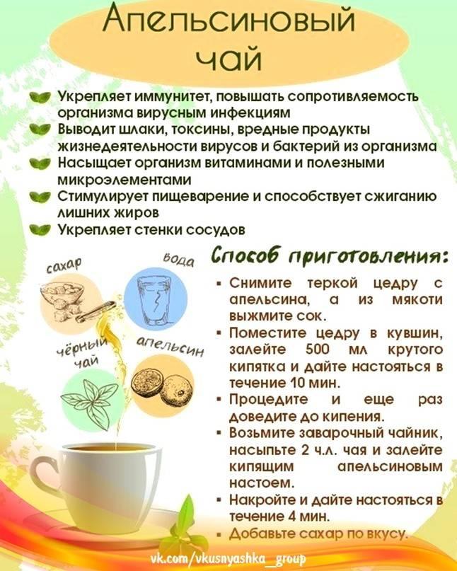 Чай при простуде: необходимость обильного питья и рецепты целебных напитков