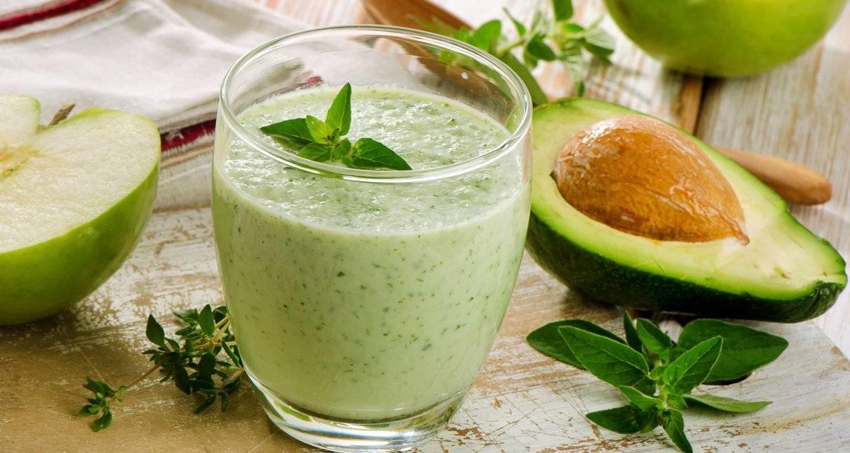 Диетические и вкусные смузи с авокадо — топ-10