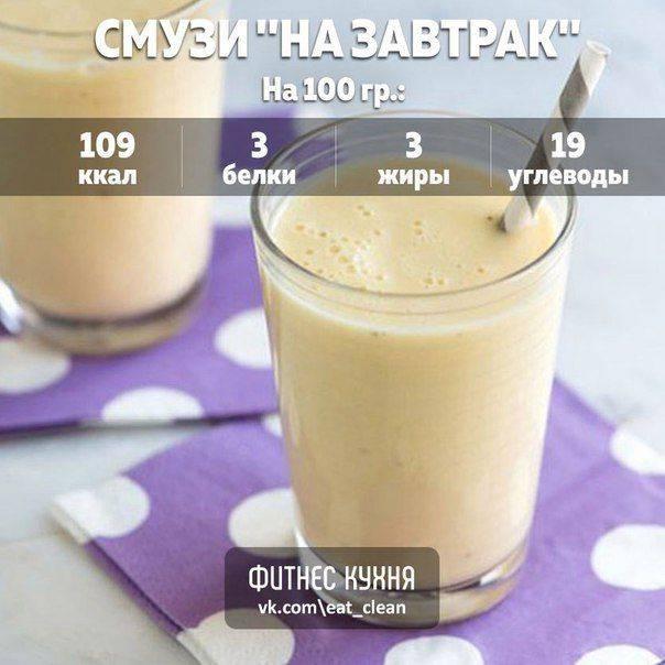 Рецепт смузи с овсянкой - 4 пошаговых фото в рецепте