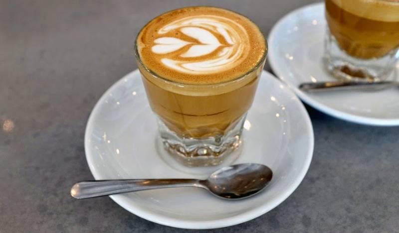 Кортадо кофе рецепт