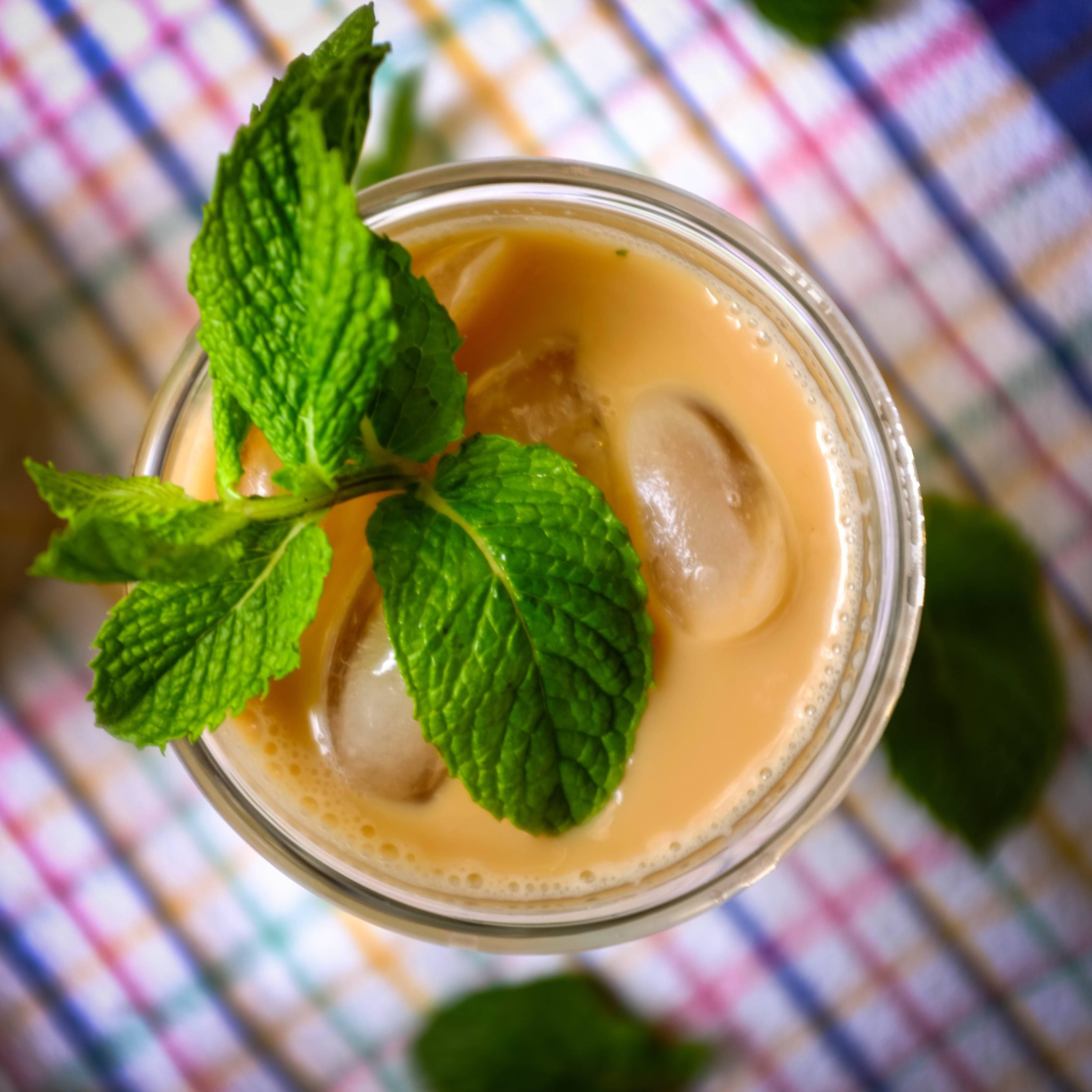 Кофе с мятным сиропом