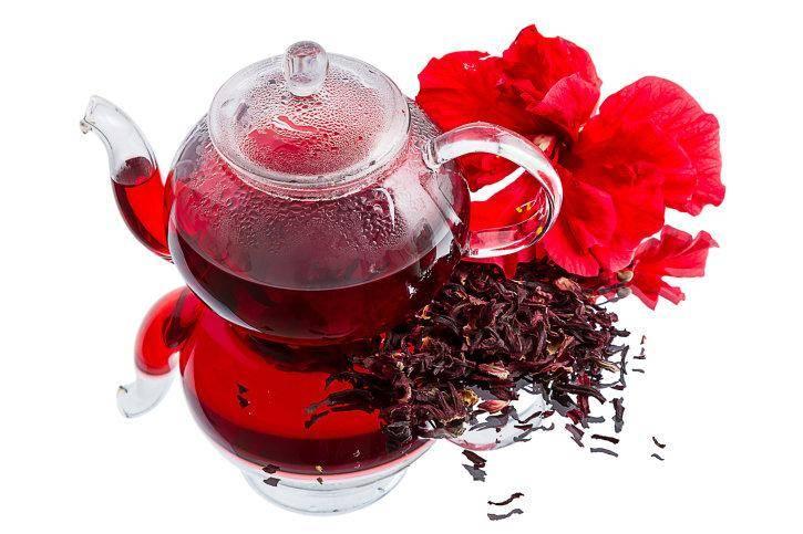Чай от повышенного давления: зеленый, черный или чай с каркаде?
