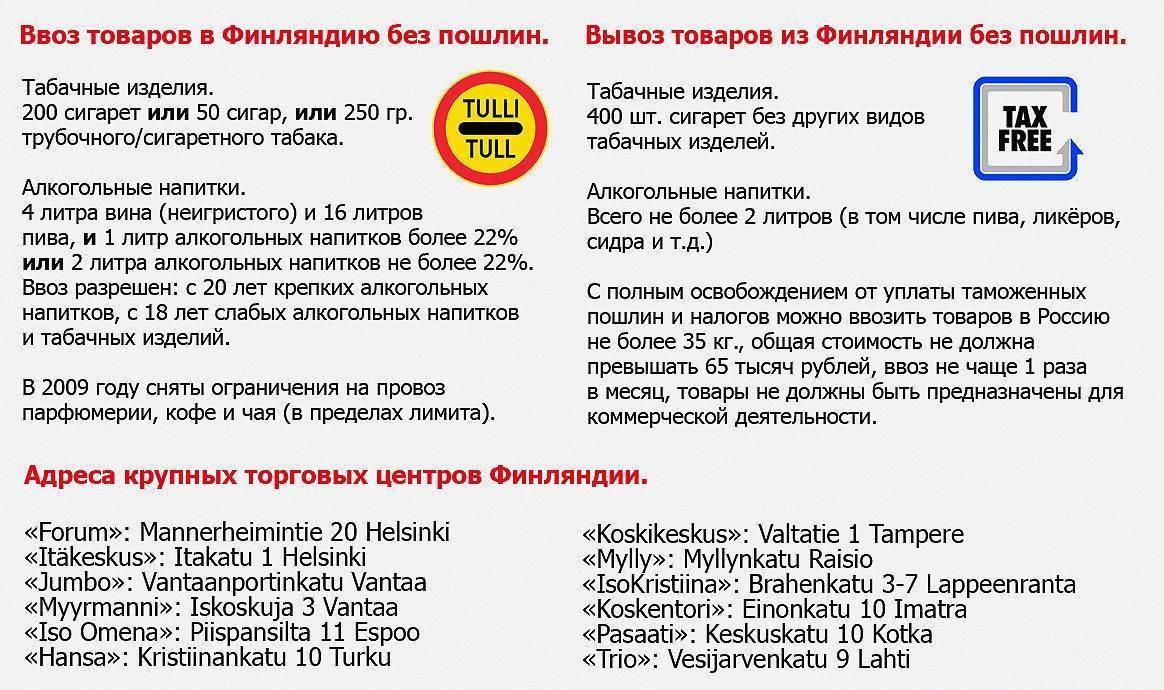 Таможенные правила ввоза товаров в россию   2019-2020