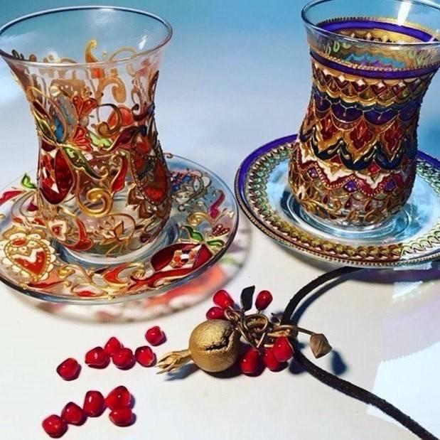 """""""чайная церемония"""" в турции: заварка и подача турецкого чая"""