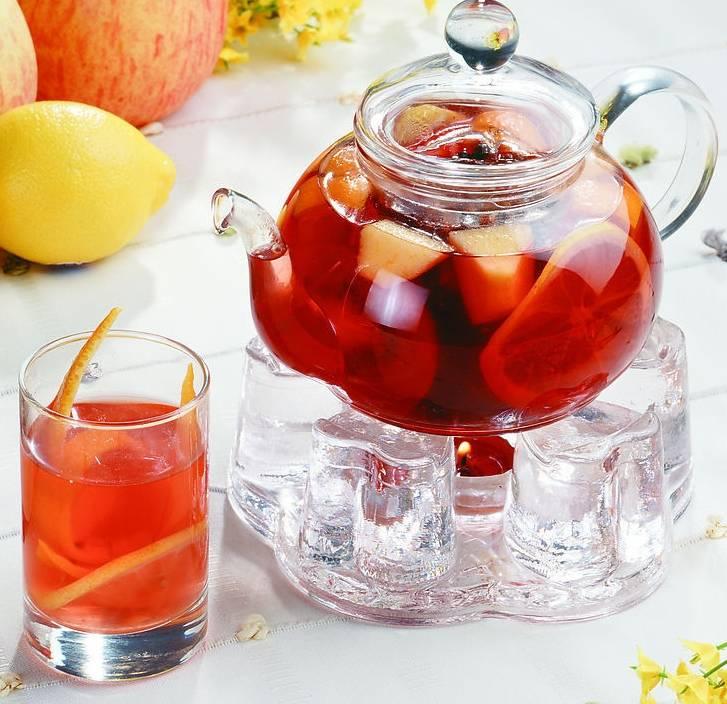 Фруктовый и ягодный чай – рецепты