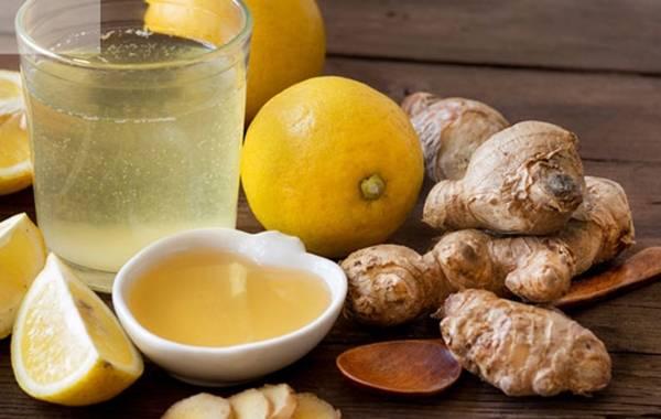 Лечимся чаем с имбирем и лимоном