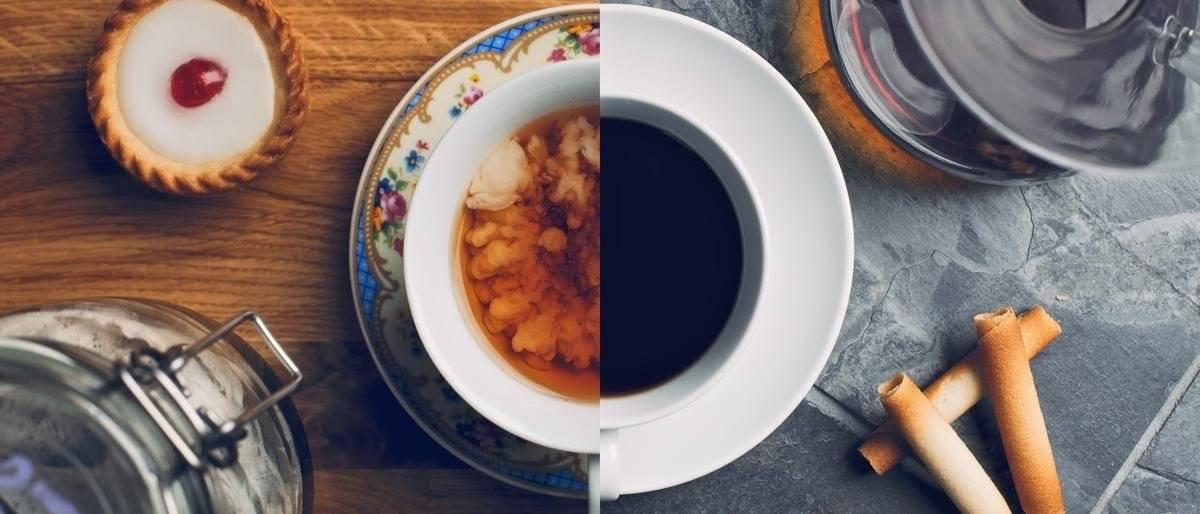 Содержание кофеина в чае и кофе: сравнение