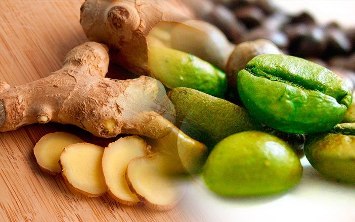 Как употреблять зеленый кофе с имбирем для похудения + отзывы