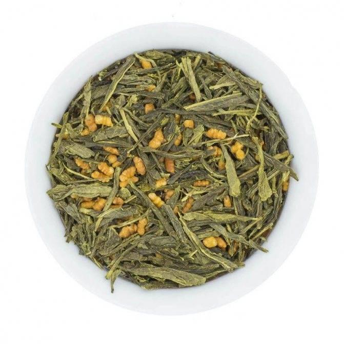 Японский рисовый чай генмайча