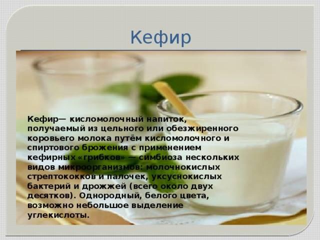 Ацидофилин и кефир: в чем разница, как отличить два напитка под микроскопом