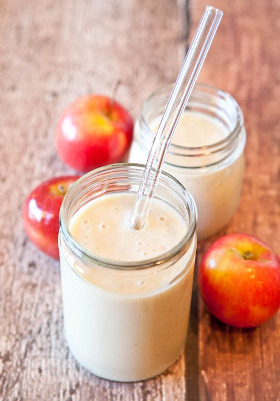 Рецепты смузи из яблок с фруктами, ягодами и зеленью